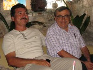 Eliseo Bahena y Raúl Arjona