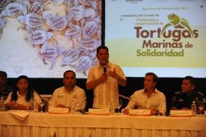 Mauricio Góngora a favor del cuidado del medio ambiente