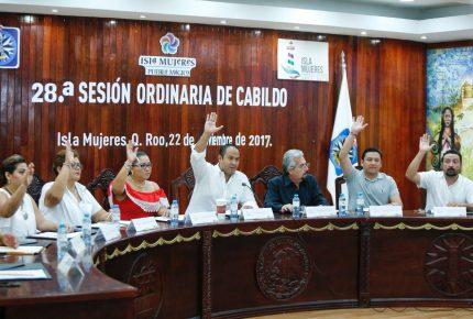 Aprueba Cabildo de Isla Mujeres descuento en el predial los