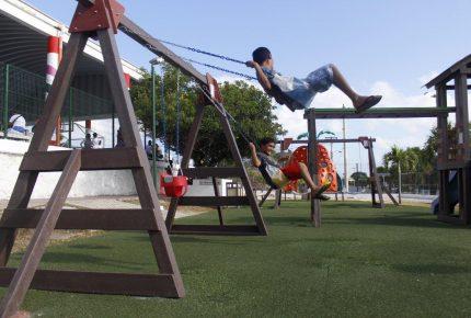 Mantenimiento de parques y áreas deportivas