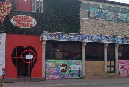 El bar Canta Canta de la Yaxchilán incautado por la PGR por asesinato de agente antidrogas
