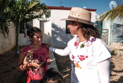 En Chetumal inicio el cambio verdadero: Marybel Villegas