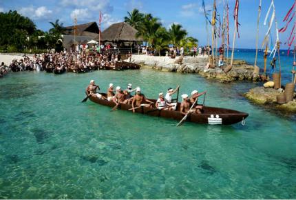 Participarán 377 canoeros en la Travesía Sagrada Maya