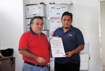 Gibrán México Pinzón nuevo director de fiscalización de #IslaMujeres