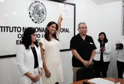 Se convierte @MarybelVillegas en la Senadora más votada de #México