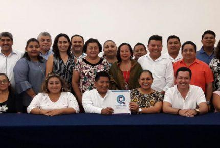 Confianza por Quintana Roo designa presidente