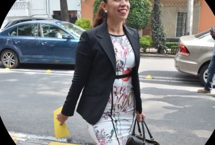 @MarybelVillegas asiste a reunión de legisladores con @lopezobrador_