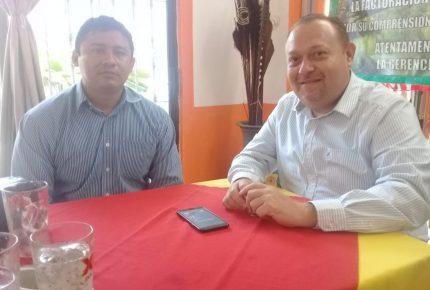 @ChakMeexJose se reune con #AdriánMartínezOrtega director general de @ProtCivil_QRoo para fortalecer la prevención