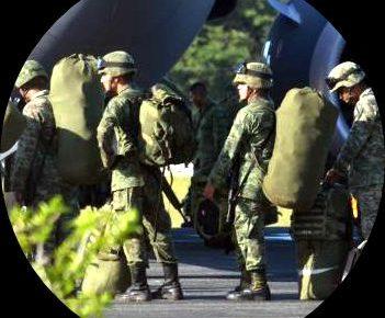 Llega la Policía Militar a #Cancún a militarizar la zona norte del estado