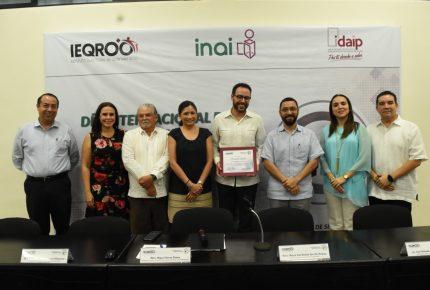 "@Ieqroo e @Idaipqroo organizan conferencia magistral ""La Transparencia como valor de la #democraciaelectoral """
