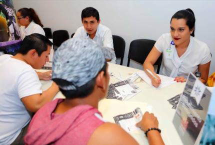 Inauguran Feria del Empleo en Puerto Morelos