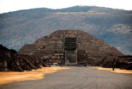 Confirman la existencia de una cámara secreta bajo la Pirámide de la Luna