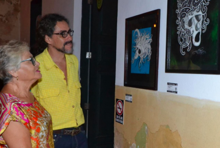 """Inauguran en #Cozumel la exposición gráfica """"Sueños"""""""