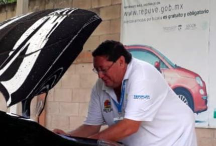 Lanzan campaña gratuita para el Registro Público Vehicular