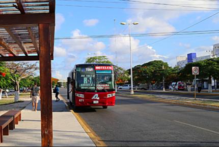 Tome precauciones cierre en tramos de la avenida Tulum