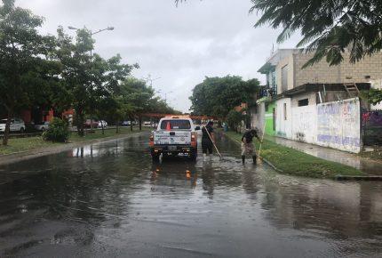 Gobierno de #Solidaridad trabaja para prevenir afectaciones por temporada de lluvia: @LauraBeristain