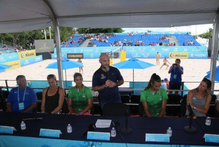 Inauguran Tour Mundial de Voleibol de Playa Femenil 2018