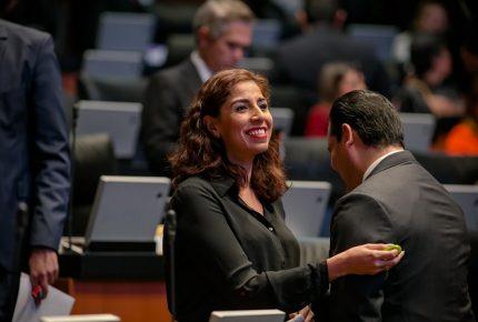 Vamos a defender desde el Senado las decisiones del pueblo de #México: #MarybelVillegas