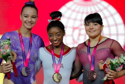 Mexicana gana bronce en Mundial de Gimnasia