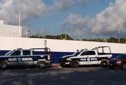 Se alzan más de 200 agentes de tránsito en #Cancun