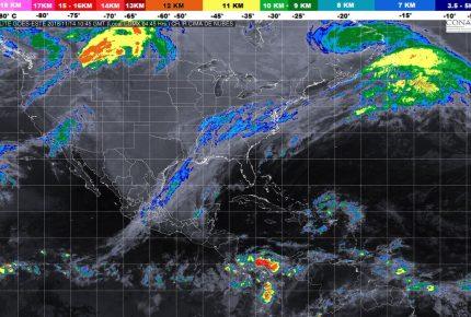 Frente Frío número 10 provocará lluvias en #QuintanaRoo