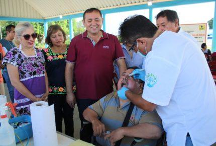 Caravana de la salud al alcance de todos
