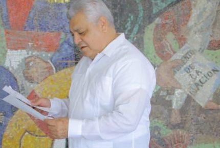 Manuel Valencia replantea rescatar la Secretaría estatal de Cultura