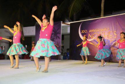Celebran aniversario de las Noches Mágicas de Isla Mujeres