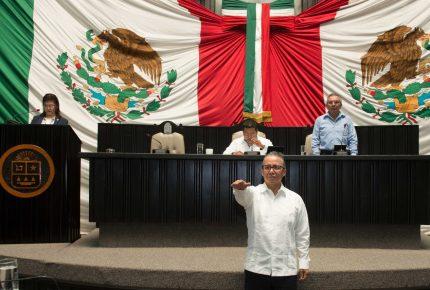 Elige Congreso a Oscar Montes de Oca como nuevo Fiscal General del Estado