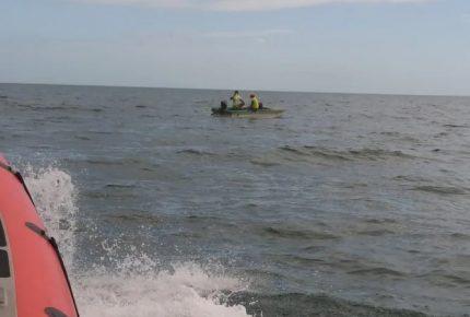 Rescata Secretaría de Marina a tres personas a 10 kilómetros de #Chetumal