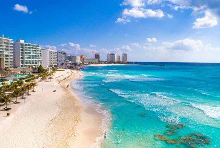 Cancún ocupa el quinto lugar más visitado del continente americano