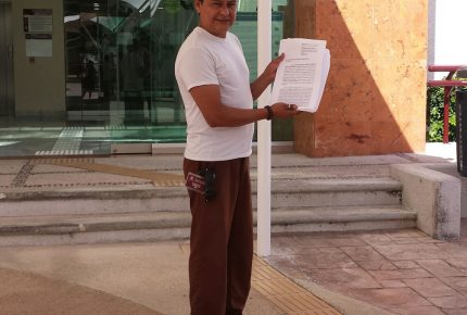 Dos ciudadanos presentan amparo contra derecho ambiental en #PuertoMorelos