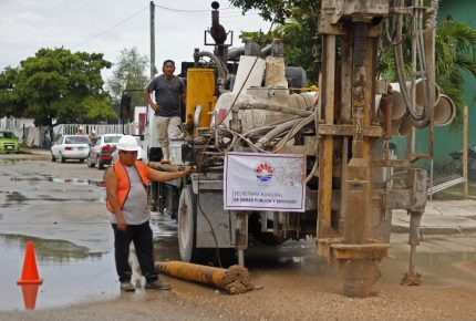 Rehabilita administración de Mara espacios públicos