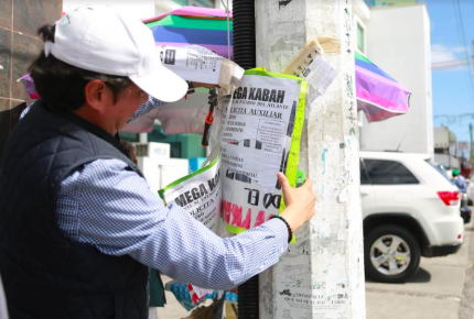 Inician operativo para mejorar la imagen urbana de Cancún