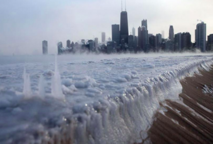 Chicago con la temperatura más baja en su historia