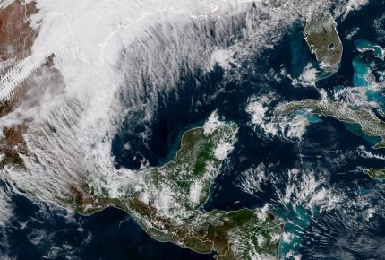 """Frente frío 21 aumenta potencial de lluvias y """"Norte"""""""