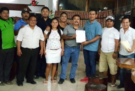 Reciben constancia y nombramiento autoridades de alcaldías, delegaciones y sub delegaciones de Lázaro Cárdenas