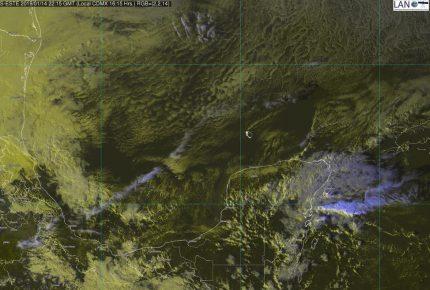 Masa de aire frío que impulsa al sistema frontal 26 favorecerá descenso en las temperaturas mínimas