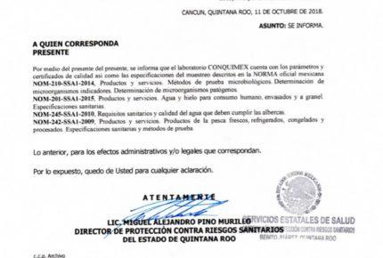 Presuntos actos de corrupción de director de la Cofepris en Quintana Roo