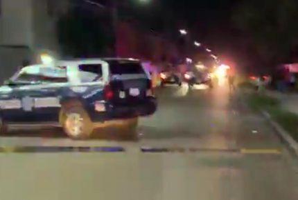 Atacan a dos policías estatales que custodiaban narco-vivienda