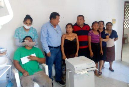 Atención médica en San Cosme, un compromiso cumplido