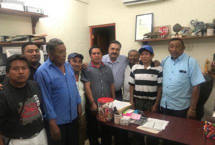 Dignatarios mayas piden a Chano Toledo sea su abanderado en elecciones