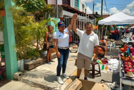 Vamos a rescatar a Cancún de la violencia: Erika Castillo