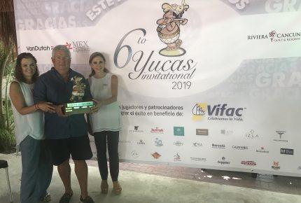 Torneo de Golf Yucas Invitational donará recaudación a Vifac Cancún