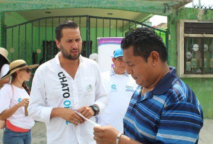 """""""Chato Ortiz"""" promoverá iniciativas que garanticen más calidad y recursos para la educación pública"""