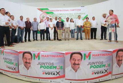 Martiniano Maldonado recibe espaldarazo de la CNC