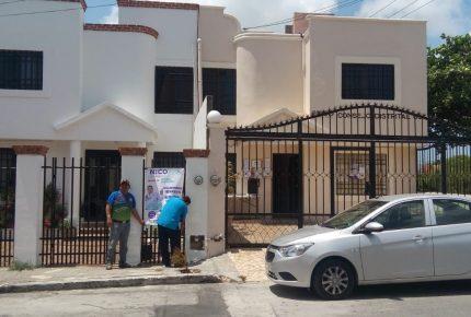 El robo de lonas y pendones con su publicidad significa desesperación de sus adversarios: Nico Puerto