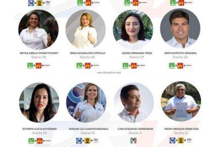 Coalición Morena, PT y PVEM ganan 11 diputaciones en Quintana Roo: PREP